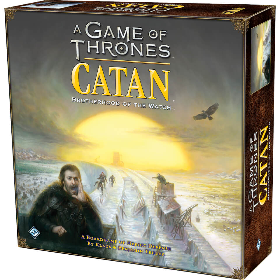 Nützlichfanartikel - A Game of Thrones Catan Brotherhood of the Watch - Onlineshop Sowas Will Ich Auch