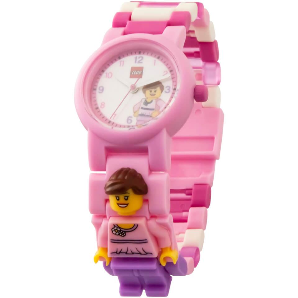 Reloj de pulsera con Minifigura - LEGO™ Classic - Rosa