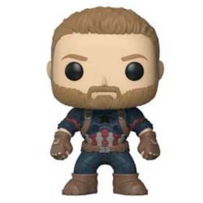 Marvel Avengers Infinity War Captain America Pop! Vinyl Figur