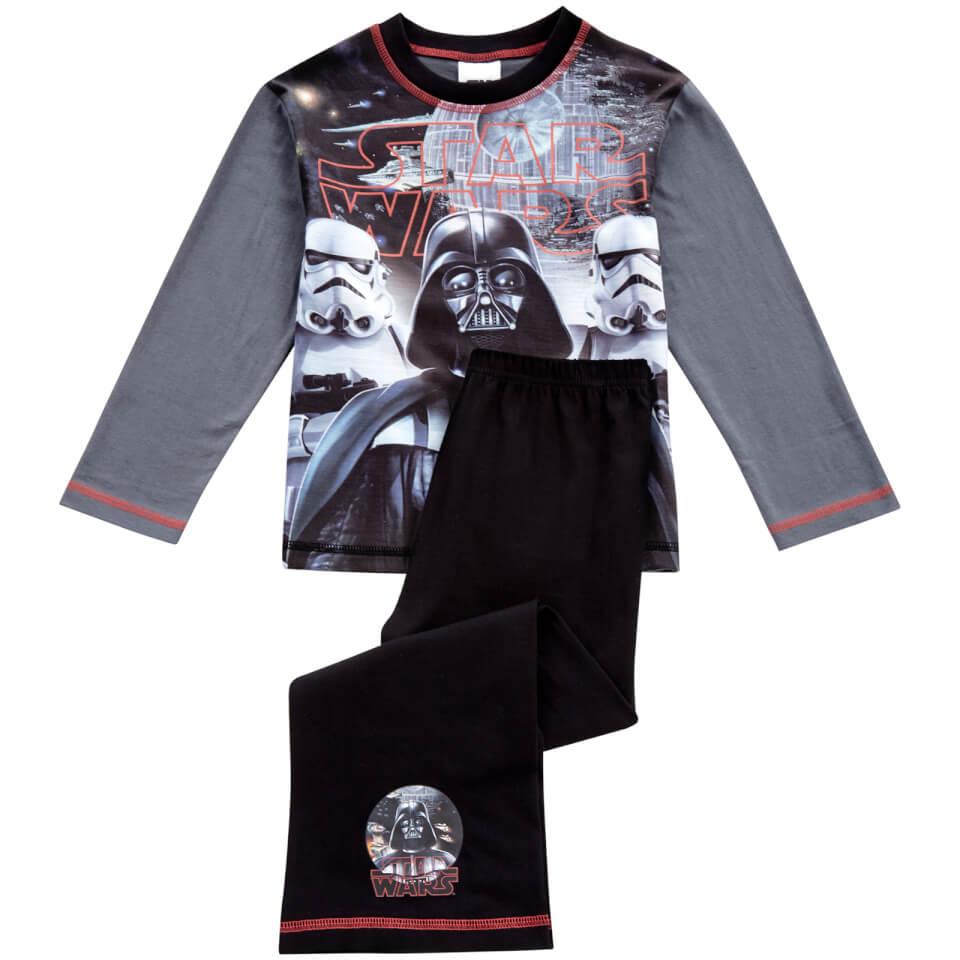 Star Wars Boys' Classic Pyjamas Grey 5 6 Years Grau