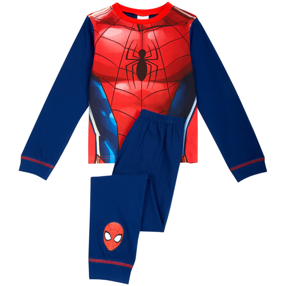Marvel Boys' Spider Man Novelty Pyjamas Blue 2 3 years Blau