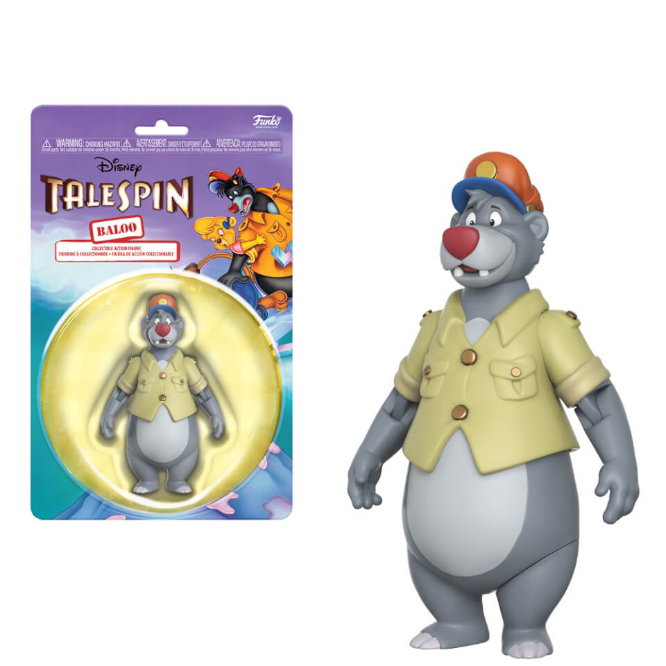 Disney Afternoon Baloo Action Figure