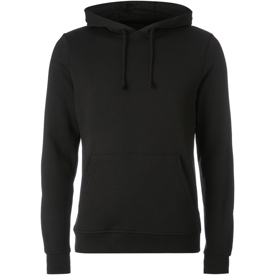 Brave Soul Men's Clarence Hoody - Black - M - Negro