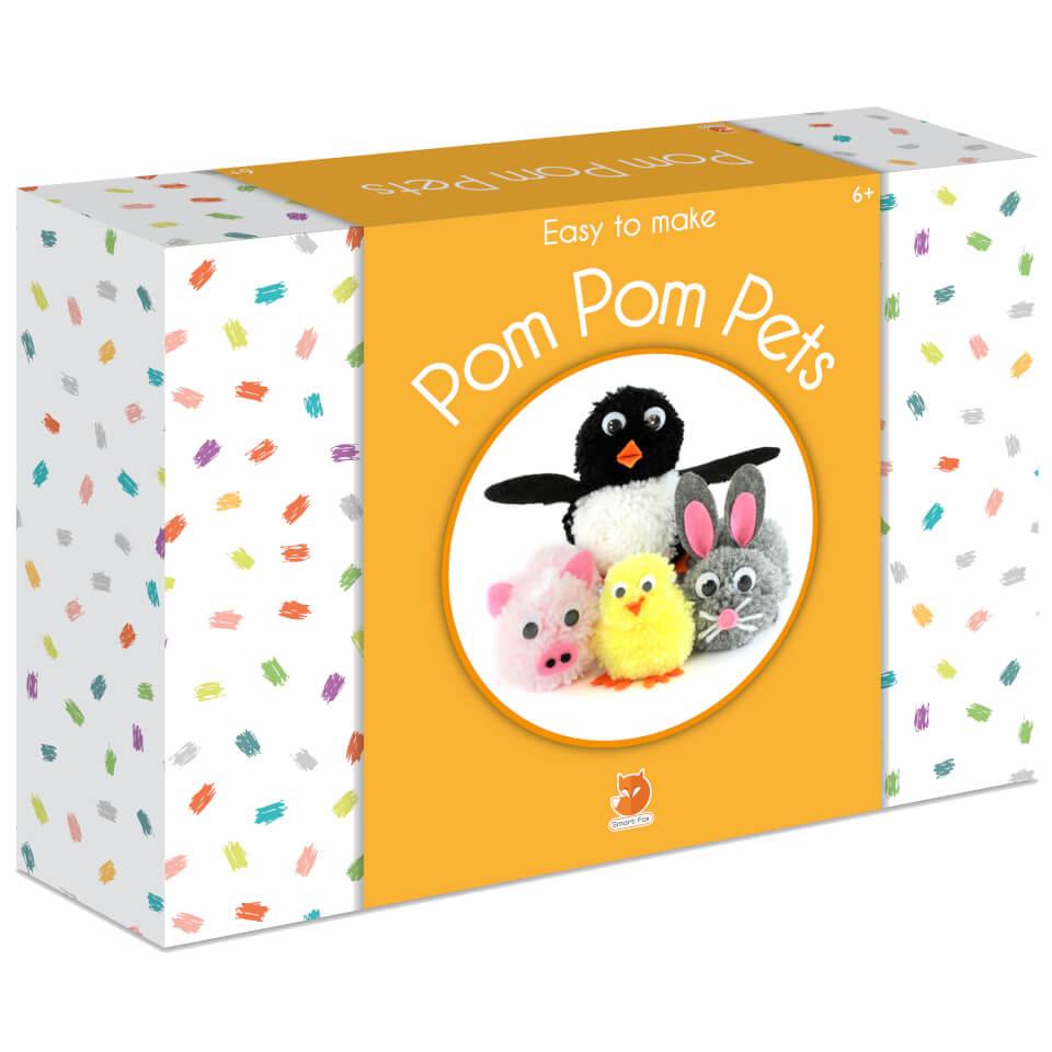 Smart Fox Jr. Easy to Make Pom Pom Pets