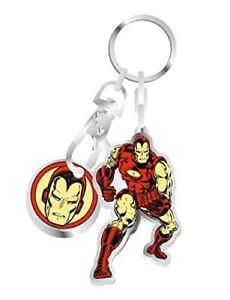 Marvel Iron Man - Keyring Trolley Coin