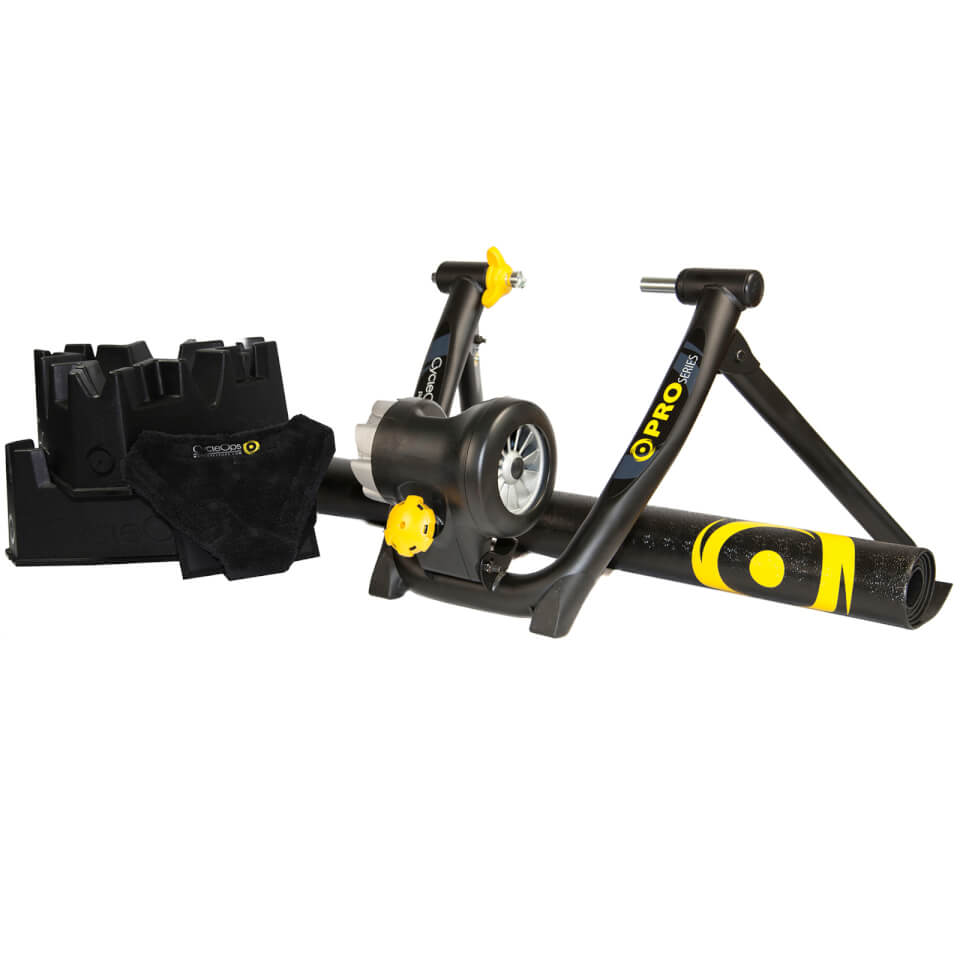 CycleOps Jet Fluid Pro Turbo Trainer Bundle