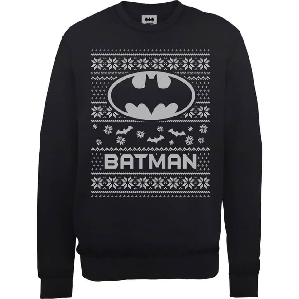DC Comics Originals Batman Weihnachtspullover Schwarz XXL Schwarz