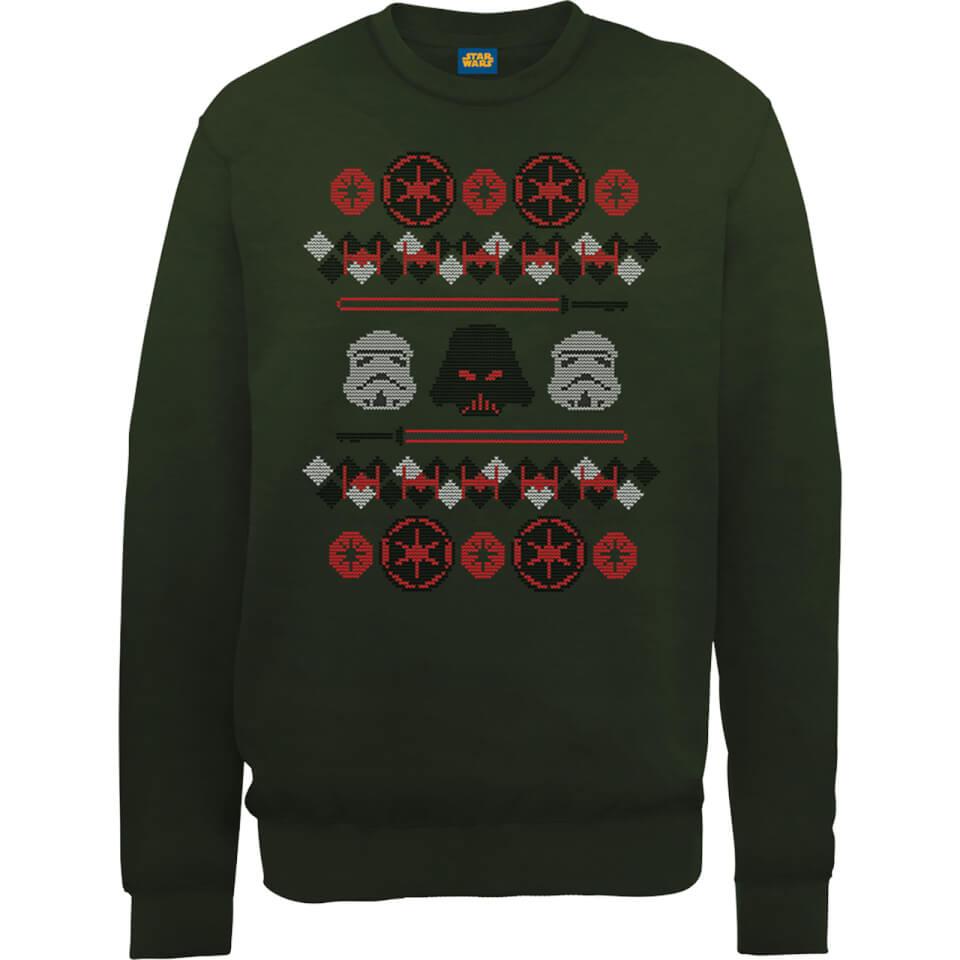 Star Wars Empire Weihnachtspullover Grün XXL Grün