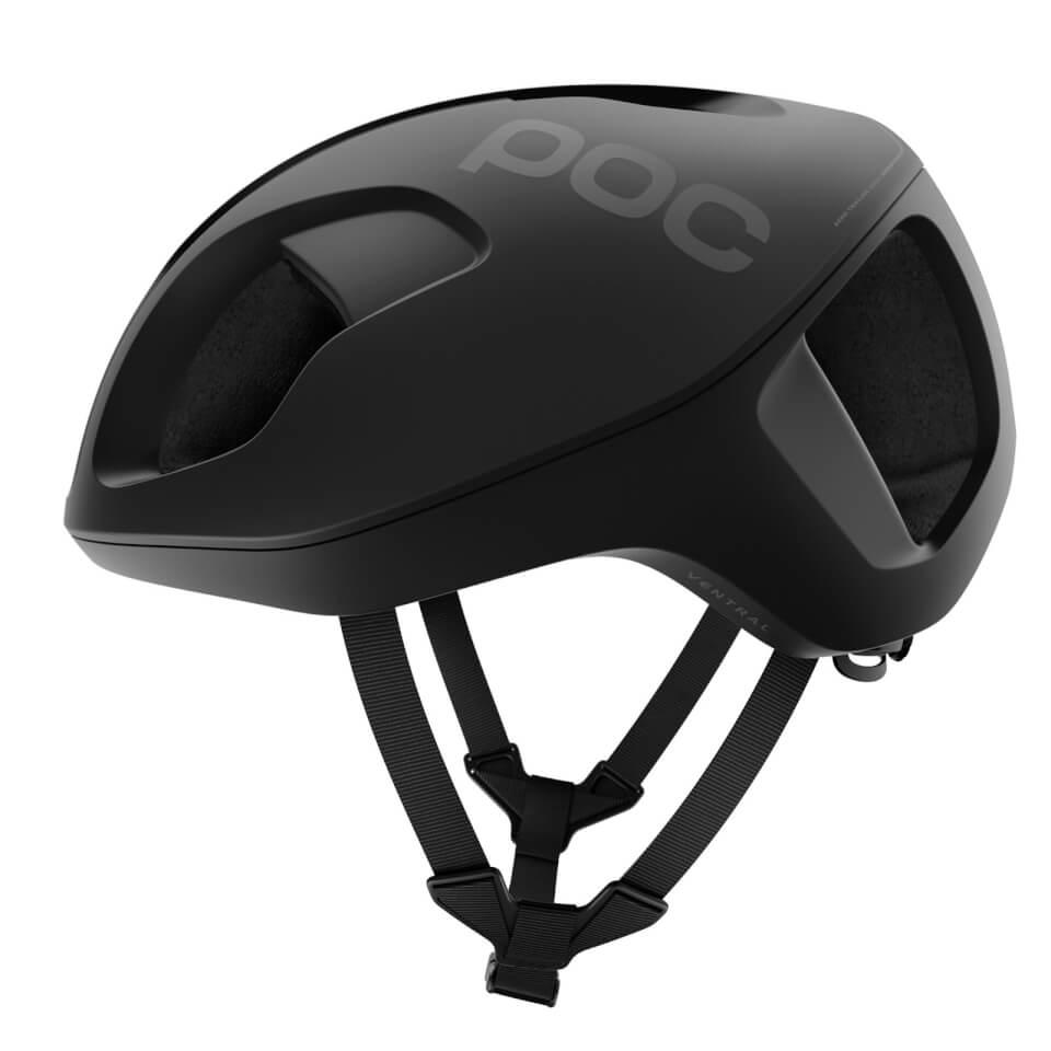 POC Ventral SPIN Helmet - Uranium Black - S/50-56cm - Uranium Black Matte