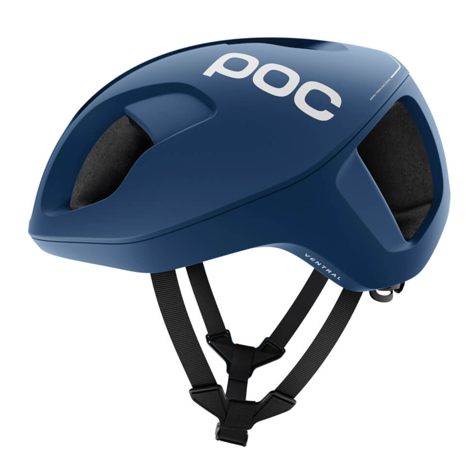 POC Ventral SPIN Helmet - Stibium Blue - S/50-56cm - Stibium Blue Matte