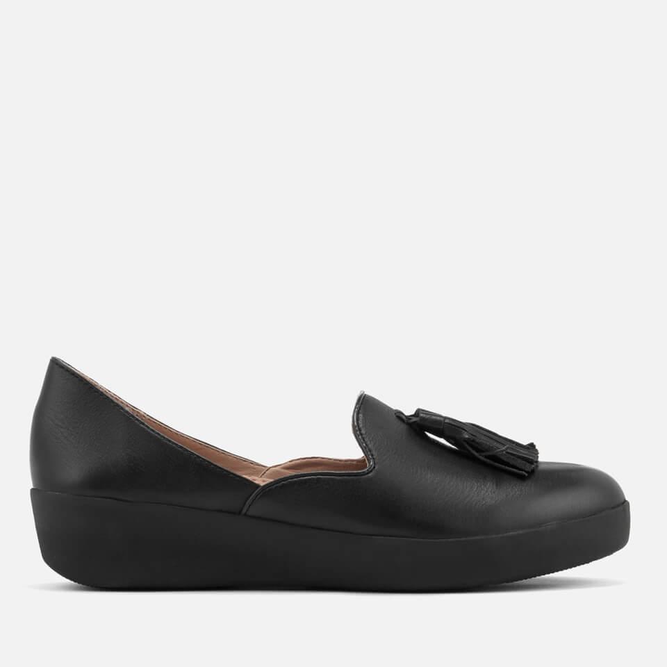 4b3bcd21d038c FitFlop Women s Tassel Superskate D Orsay Loafers - Black