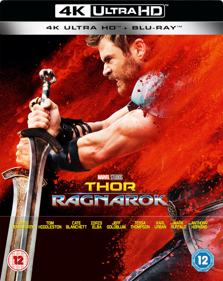 thor ragnarok 4k ultra hd including 2d blu ray. Black Bedroom Furniture Sets. Home Design Ideas