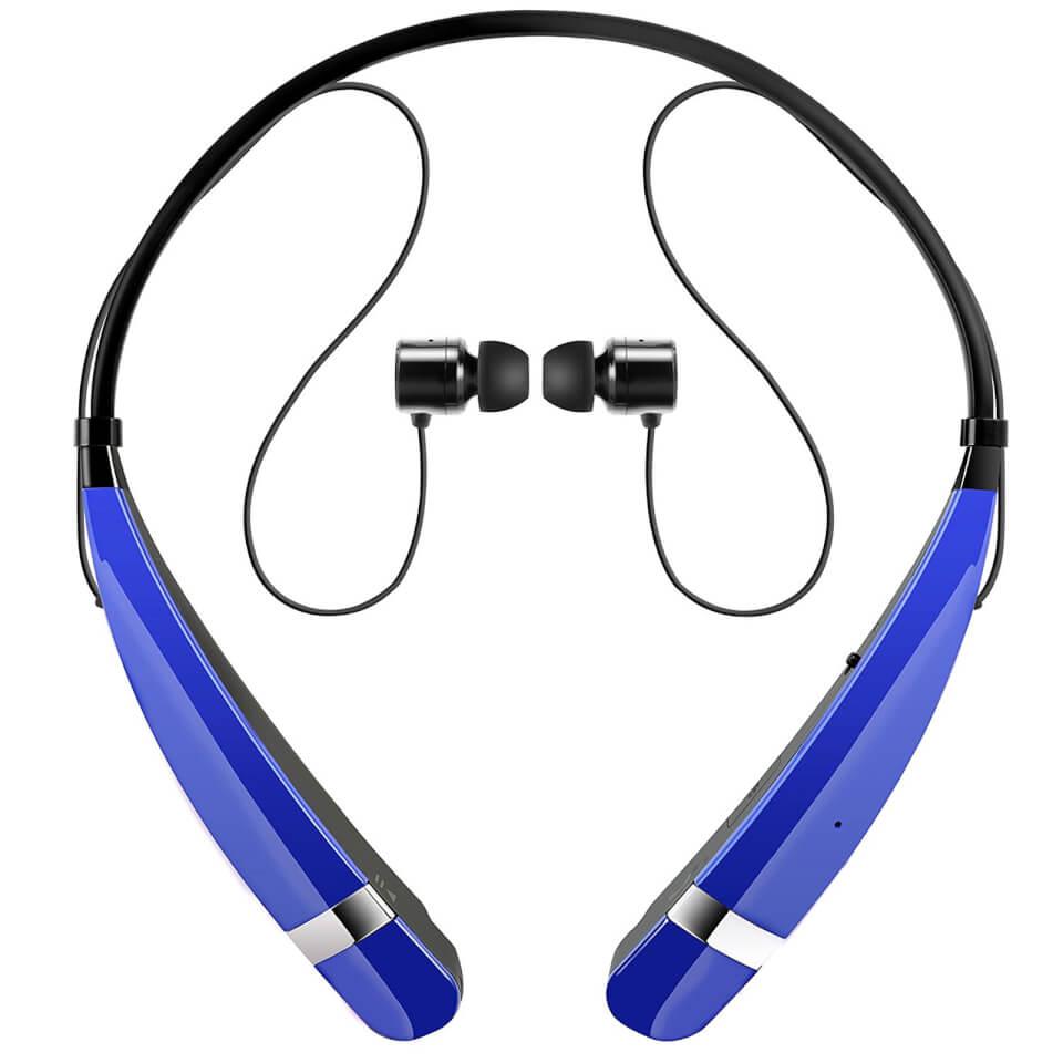 LG Tone Pro Nackenbögel Sprt Bluetooth Kopfhörer mit integriertem Mikrofon Blau