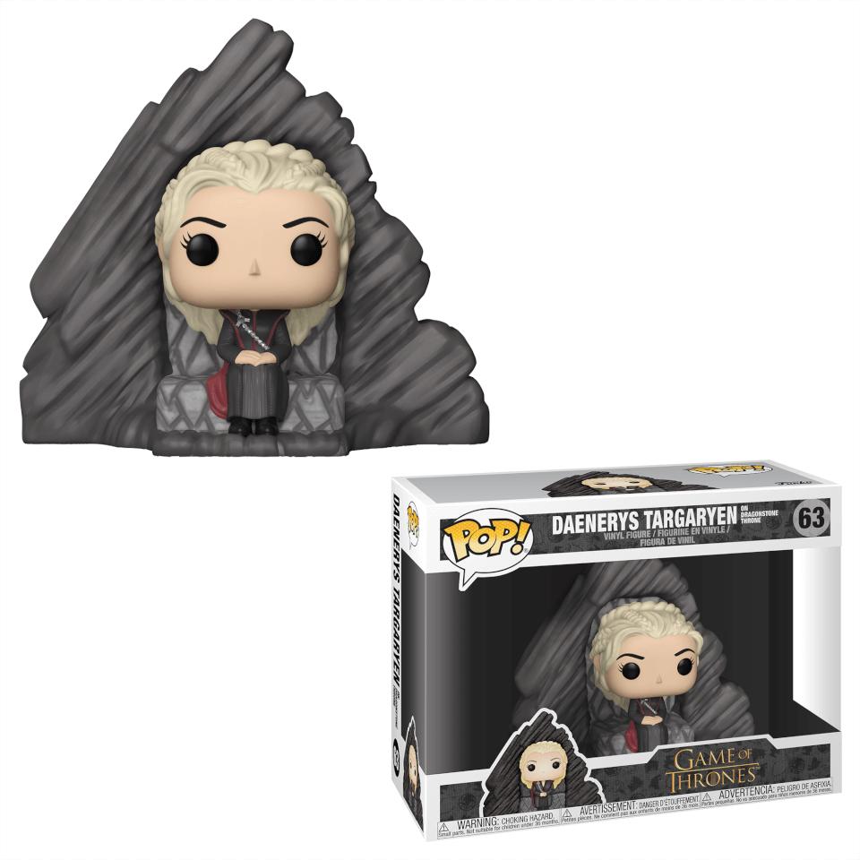 Juego de Tronos - Daenerys en el Trono de Rocadragón - Figura POP