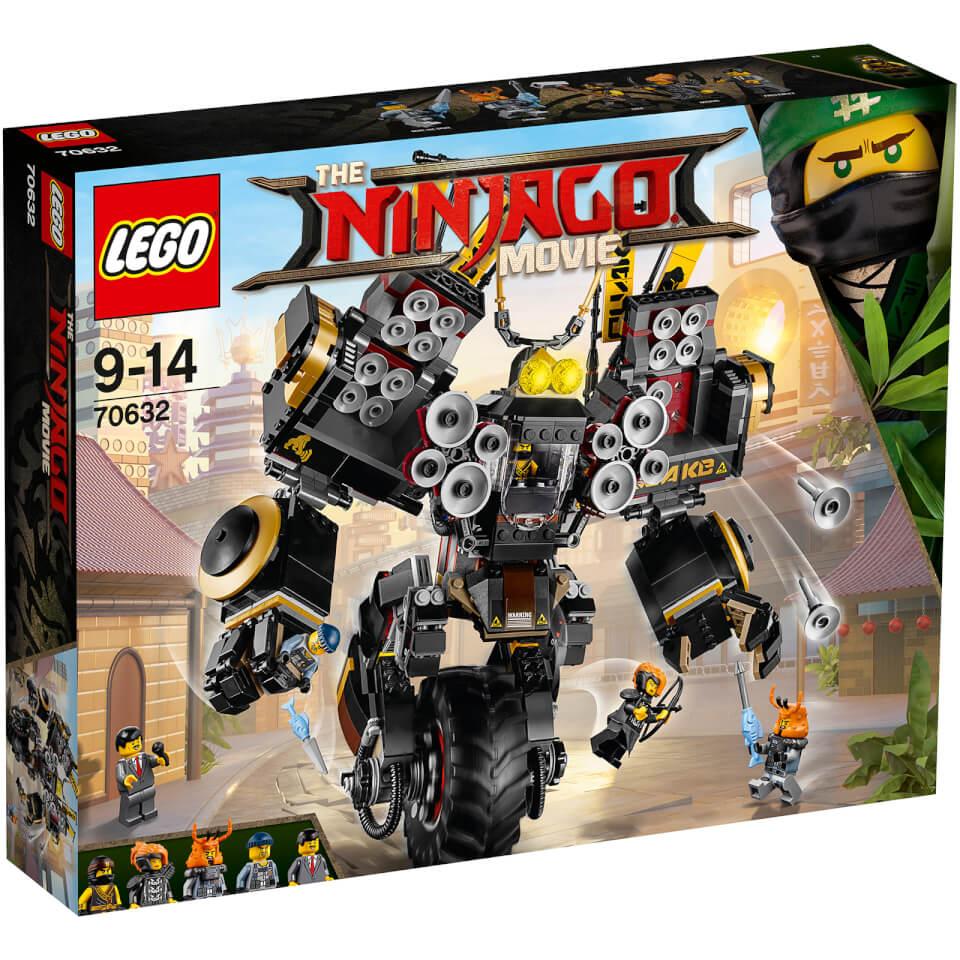 The LEGO Ninjago Movie: Robot sísmico (70632)