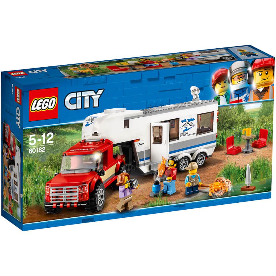 City 60182 Camioneta y Remolque, Juegos de construcción