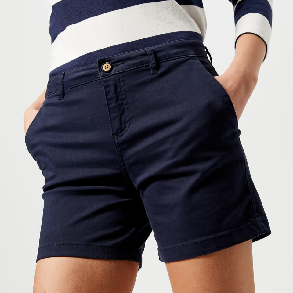 Joules Women's Cruise Chino Shorts - French Navy Womens