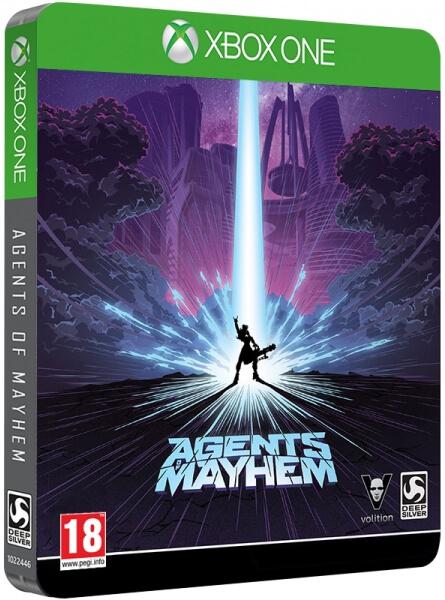 Agents of Mayhem - Edición Steelbook