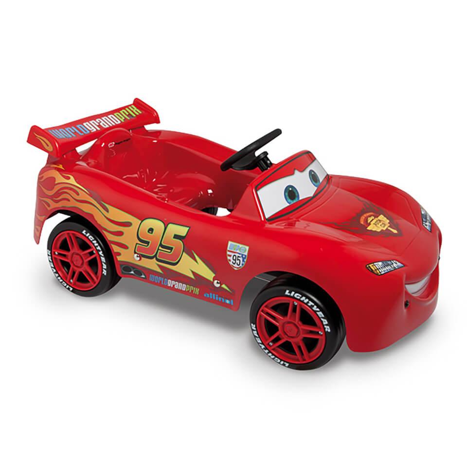 Disney Saetta McQueen Pedal Power Car - Red