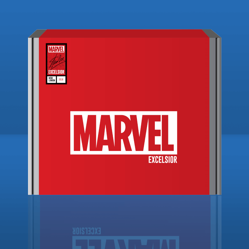 Caja Exclusiva Marvel Excelsior! - Comic Con Londres - L