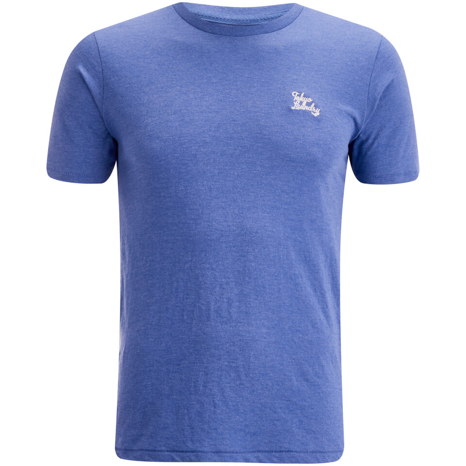 Tokyo Laundry Men's Montecarlo T-Shirt - Cornflower Blue Marl - XXL - Azul
