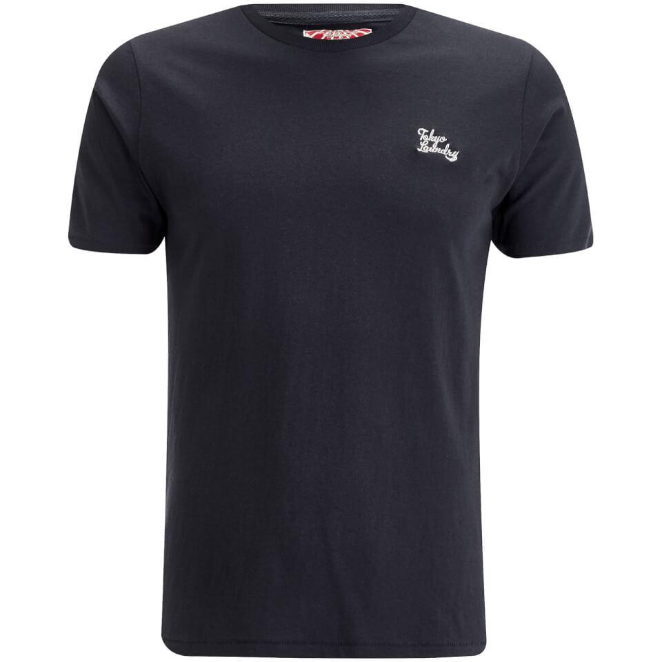 Tokyo Laundry Men's Montecarlo T-Shirt - Dark Navy - L - azul marino