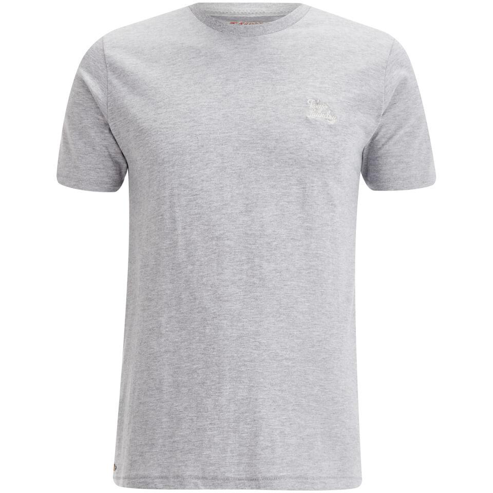 Tokyo Laundry Men's Montecarlo T-Shirt - Light Grey Marl - L - Gris