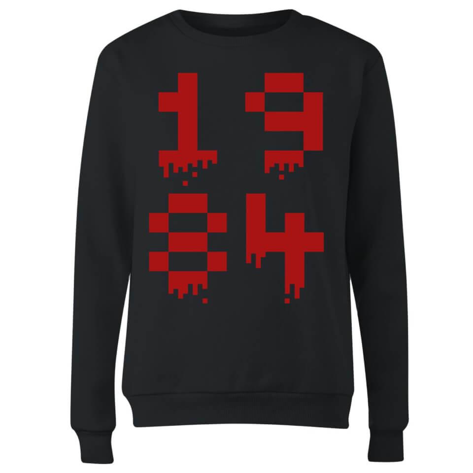 1984 Gaming Women's Sweatshirt - Black - L - Negro