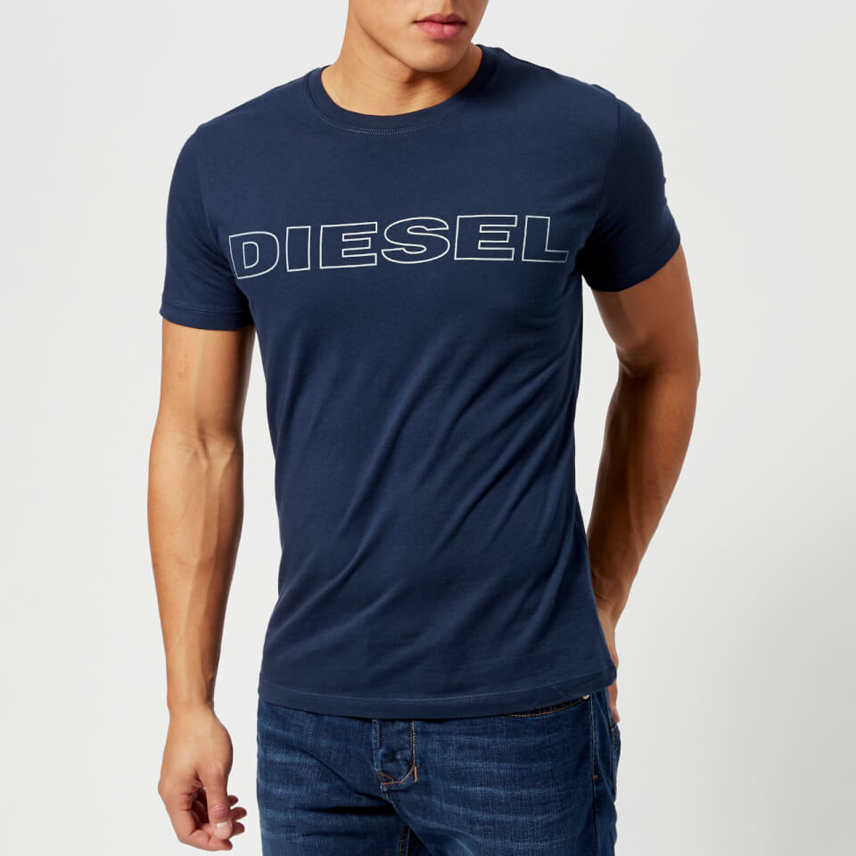 Diesel Men's Jake Logo T-Shirt - Navy - XXL - Navy