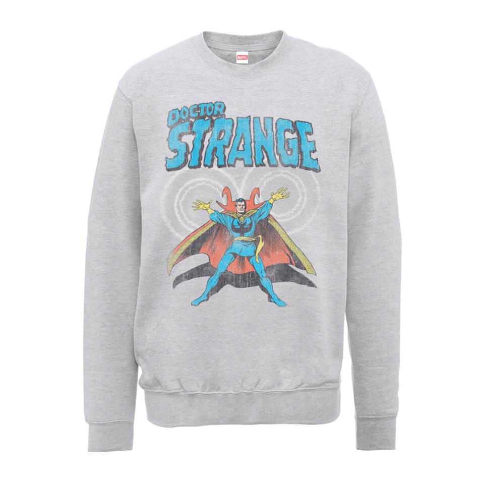 Marvel Doctor Strange Energy Männer Sweatshirt Grau XXL Grau