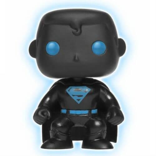 DC Justice League Superman Glow in the Dark Silhouette EXC Pop! Vinyl Figur