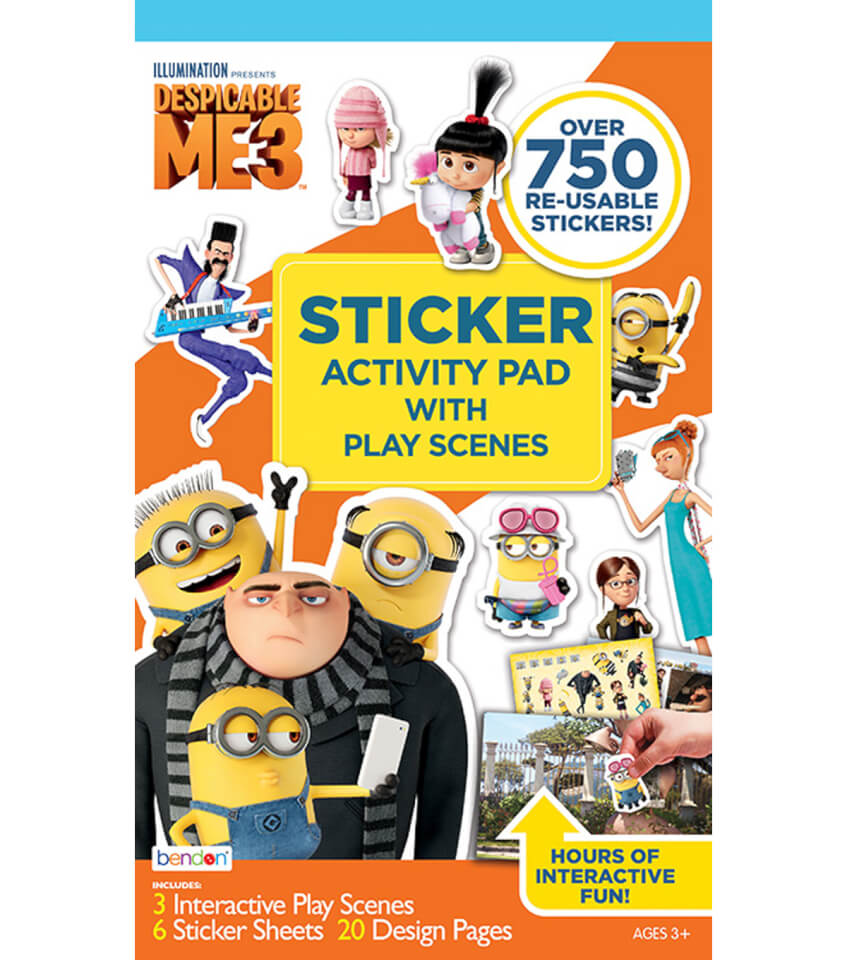 Despicable Me 3 Sticker Play Scene