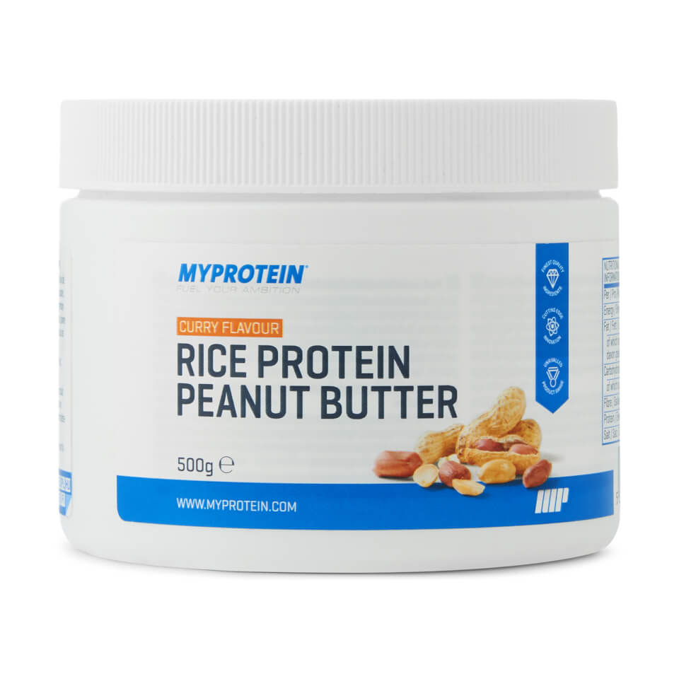 Mantequilla de Cacahuete con Proteína de Arroz - 500g - Curry