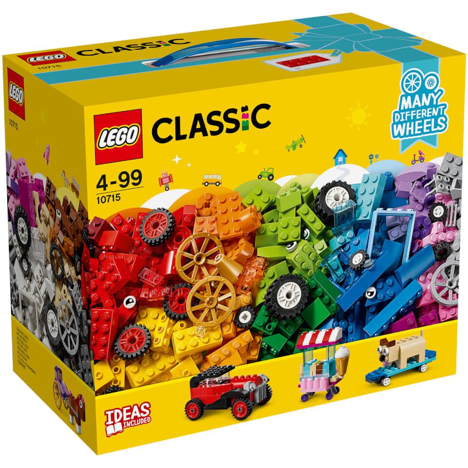 LEGO Classic - Ladrillos Sobre Ruedas - 10715