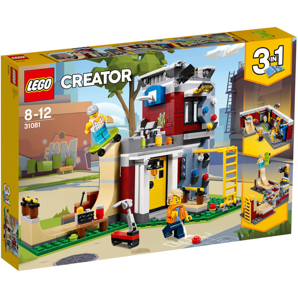 Juguete lego creator modular skate house 31081 desde for Home creator online