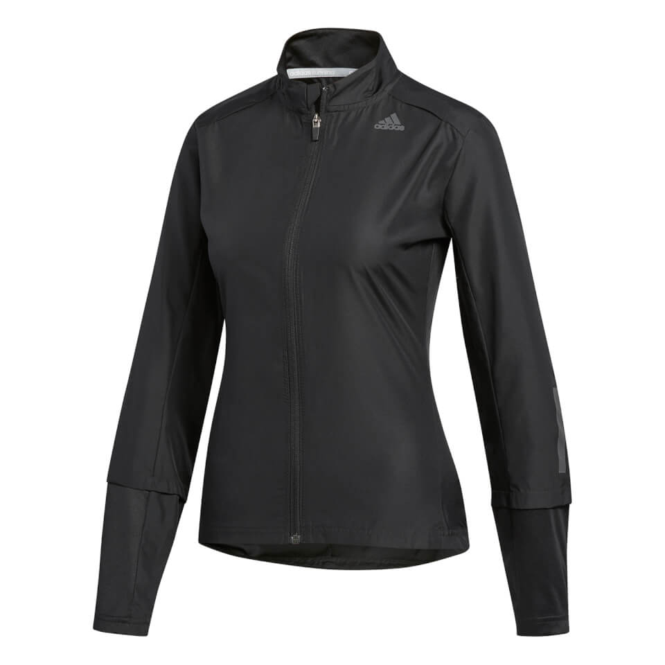 adidas Women's Response Wind Jacket - Black | Jakker