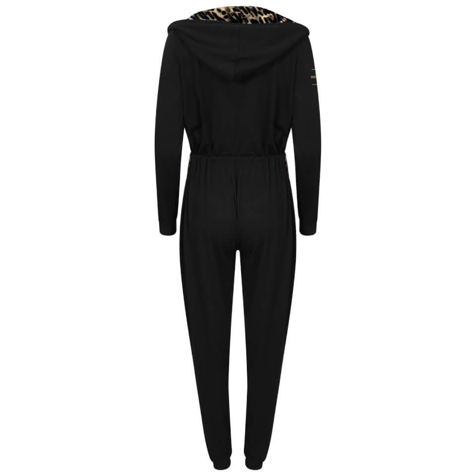 Bronzie Chelsea Jumpsuit - Leopard - M/L - Leopard