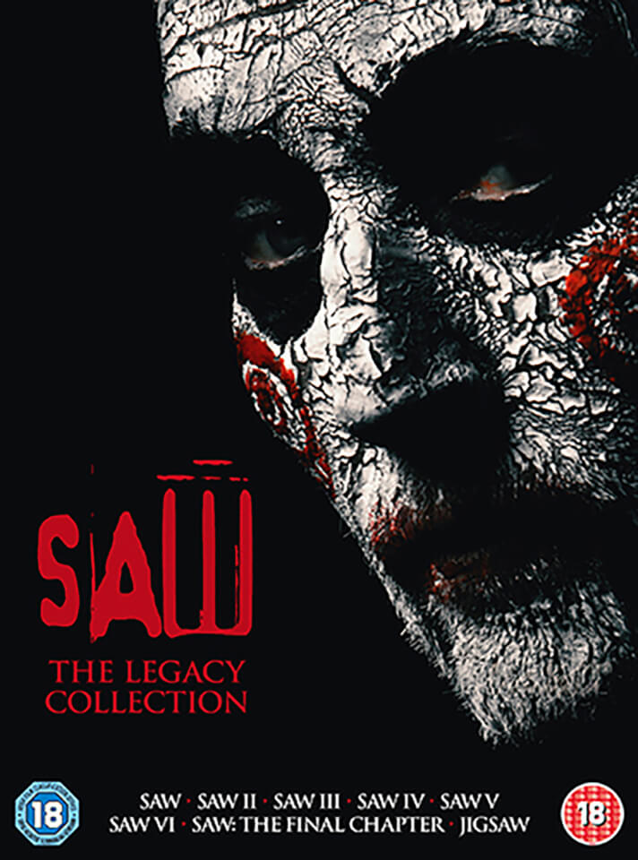 Saw The Definitive Collection Dvd Zavvi