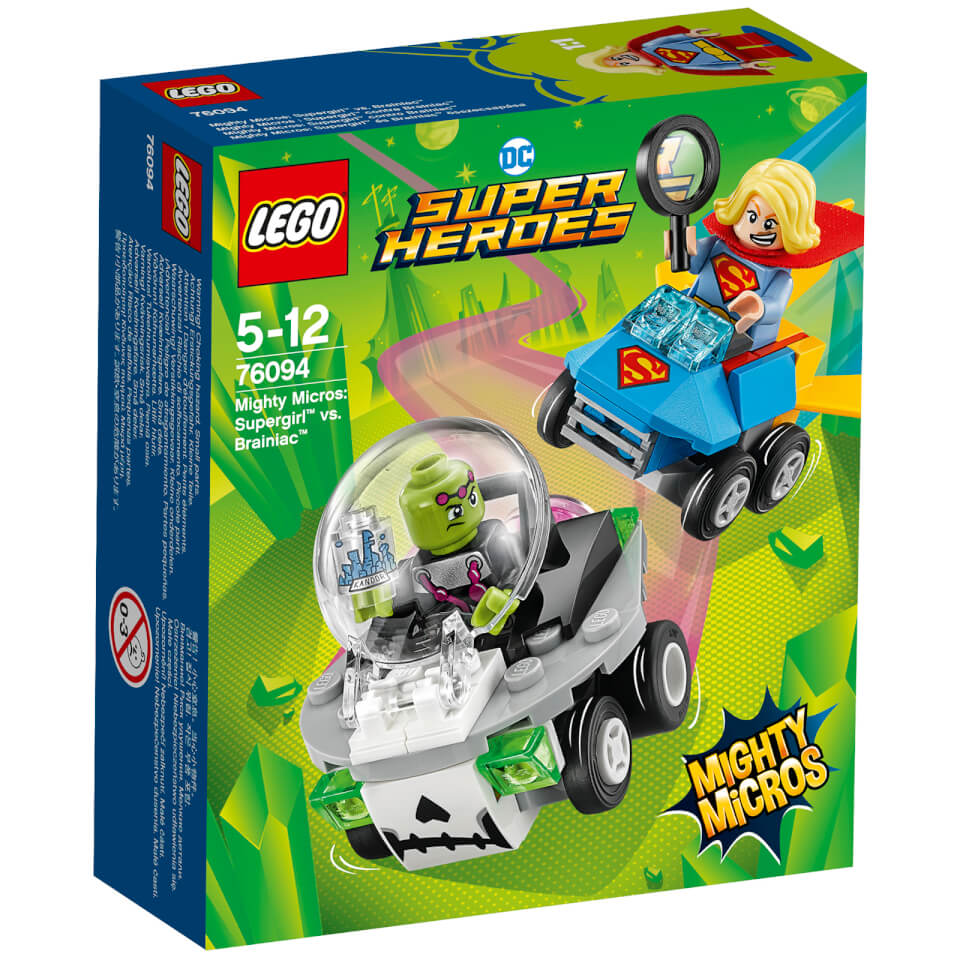 LEGO Super Heroes - Mighty Micros Supergirl vs Brainiac - 76094
