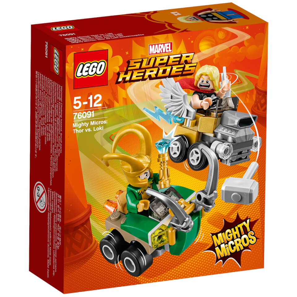 LEGO Super Heroes - Mighty Micros Thor vs Loki - 76091