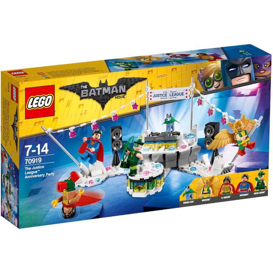 The LEGO Batman Movie The Justice League Anniversary Party (70919)