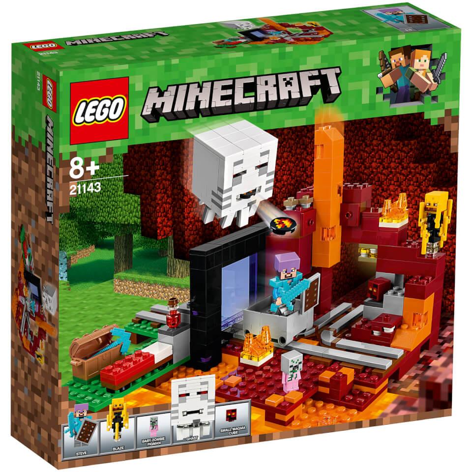 Nützlichfanartikel - LEGO Minecraft Netherportal (21143) - Onlineshop Sowas Will Ich Auch