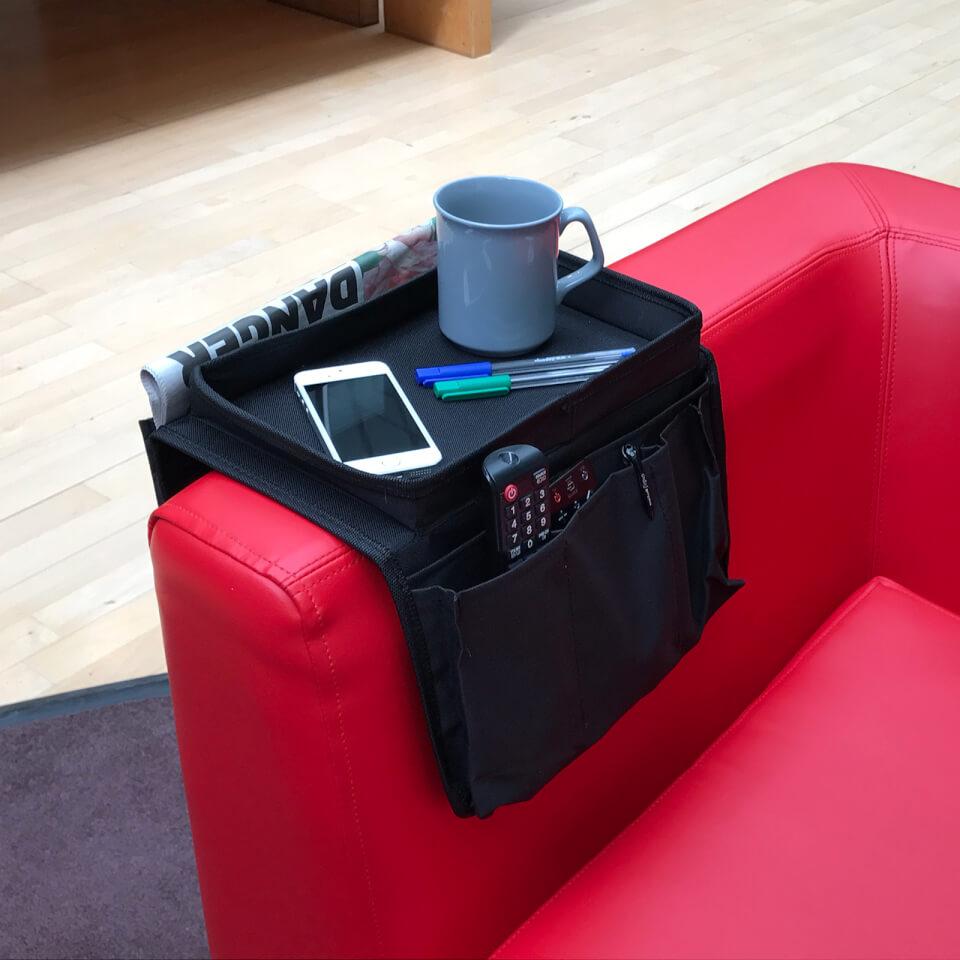 Arm Chair Caddy Black