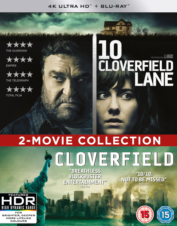 10 Cloverfield Lane/Cloverfield - 4K Ultra HD