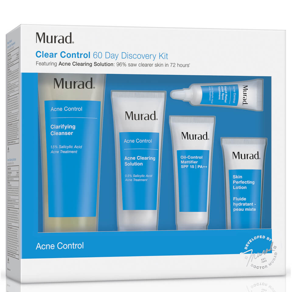 Murad Complete Acne Control 60 Day Kit (Worth $120) 11655436