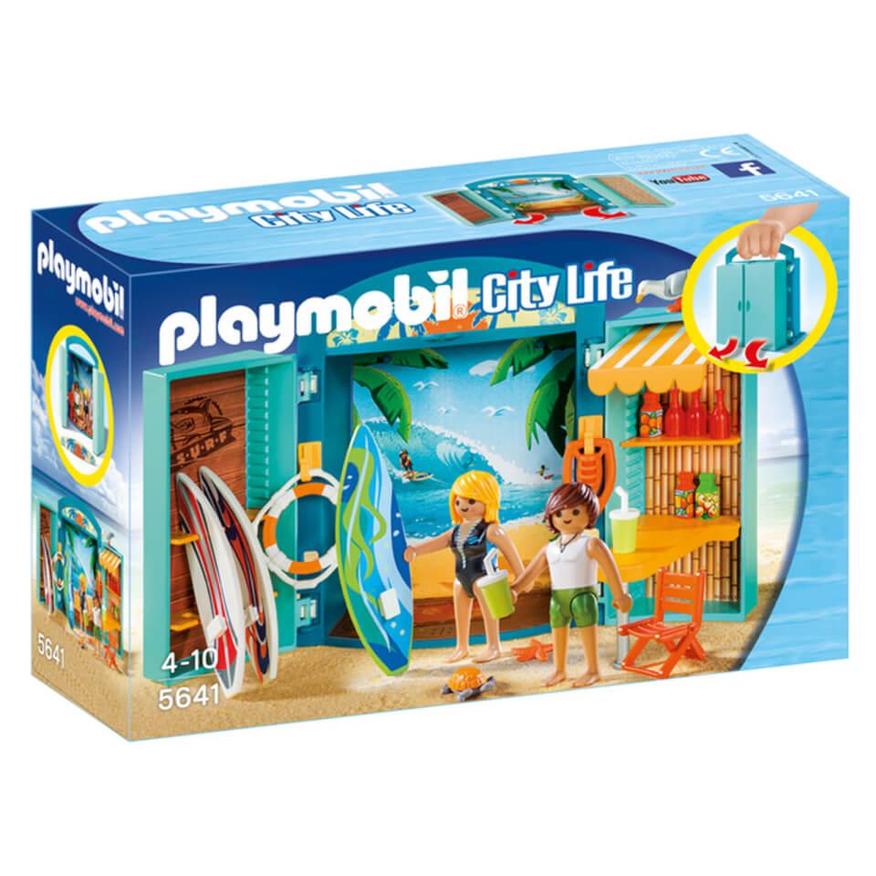 Playmobil - Cofre Tienda de Surf - 5641