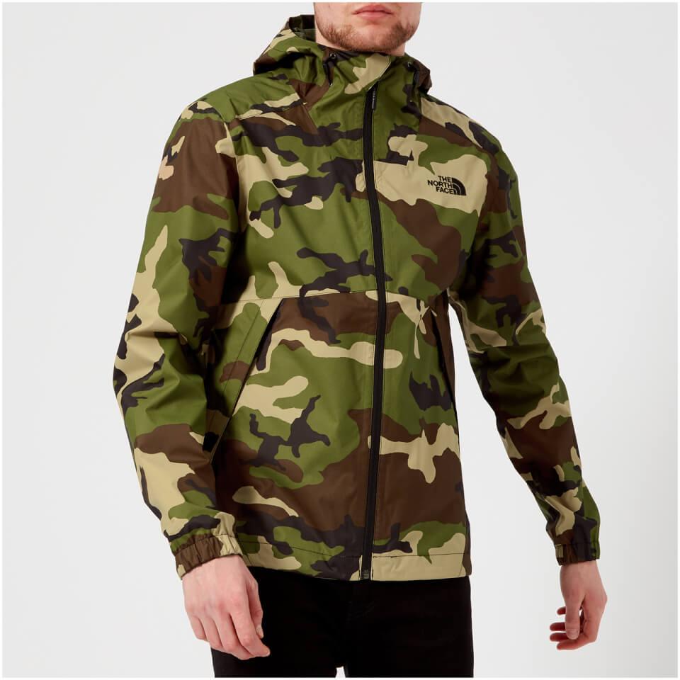 The North Face Men s Millerton Jacket - Terrarium Green Woodland Camo Print  Clothing  51c8abba21d8