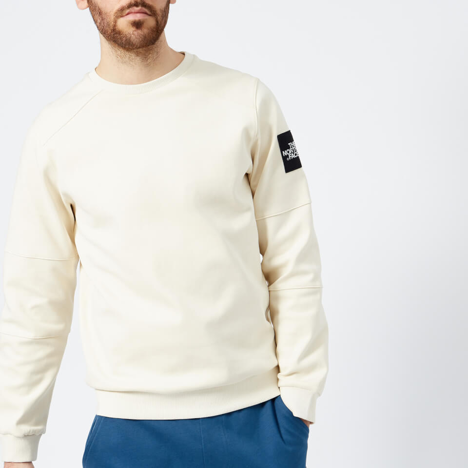 The North Face Men s Fine Crew Sweatshirt - Vintage White - Free UK  Delivery over £50 c3a49c370