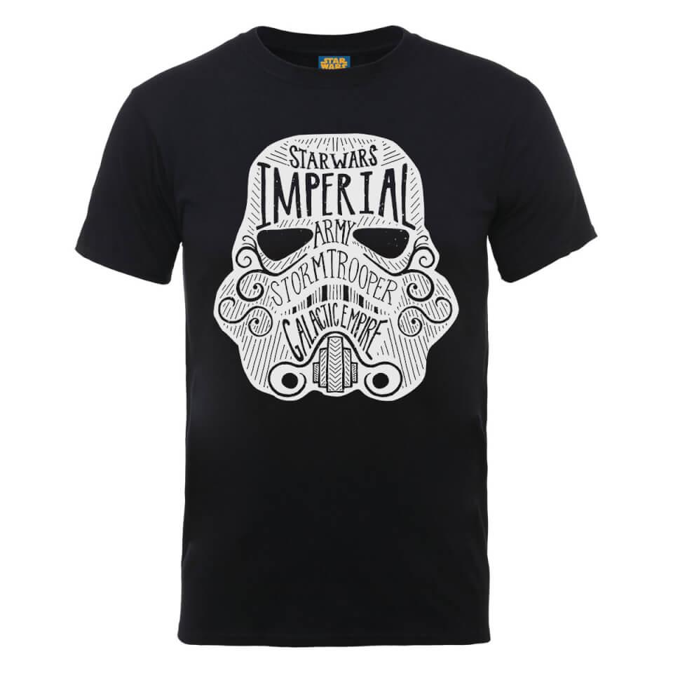 Star Wars Imperial Army Storm Trooper Galactic Empire T-Shirt - Black - XXL - Black