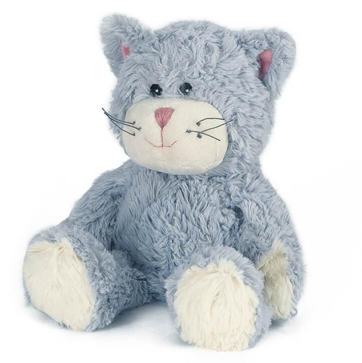 Warmies Cozy Heatable Plush Cat Blue